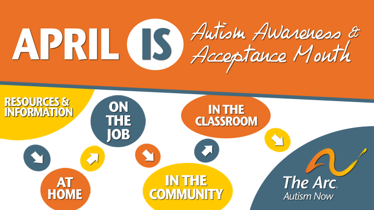 april is autism awareness month banner the arc baltimore