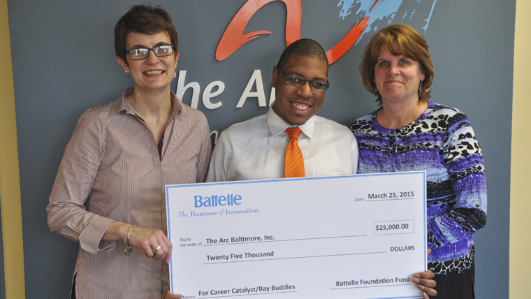 Battelle Contributes $25K to The Arc Baltimore