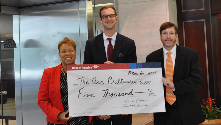 Bank of America makes generous donation to Career Catalyst