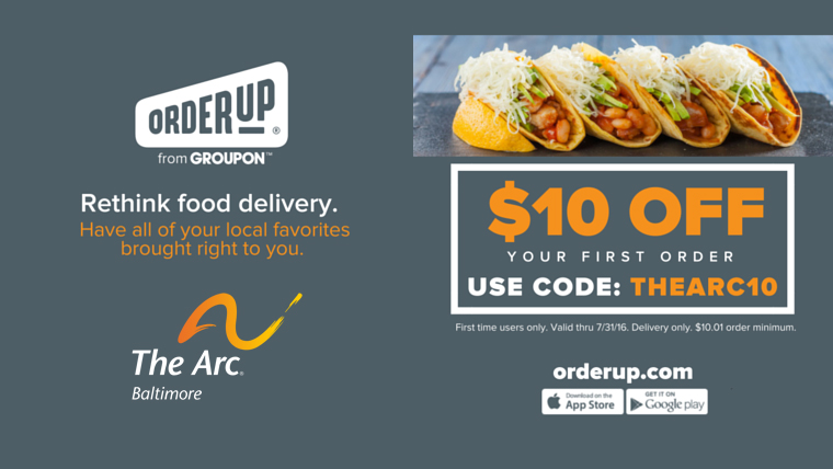 OrderUp Promotion