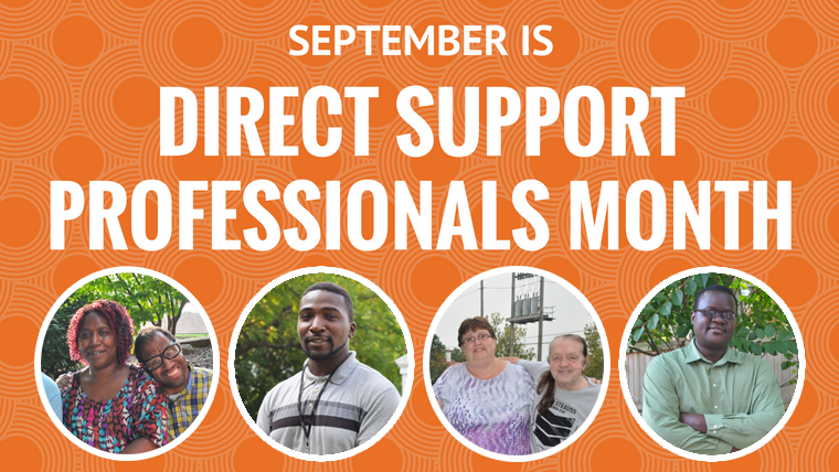 Direct Support Professionals Month