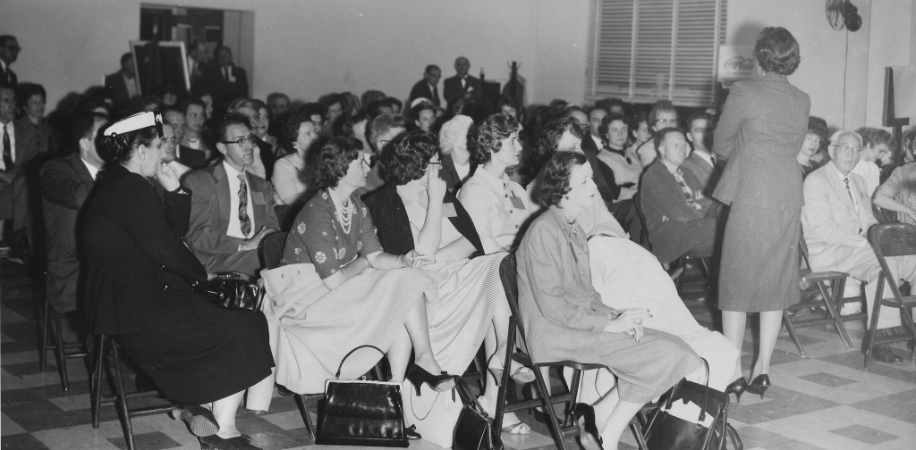 1949, early meeting of parents that later became The Arc Baltimore