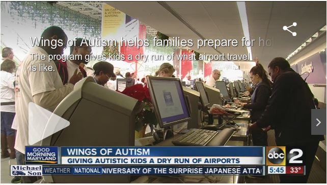 Wings For Autism Helping Children With Disabilities Travel ABC2